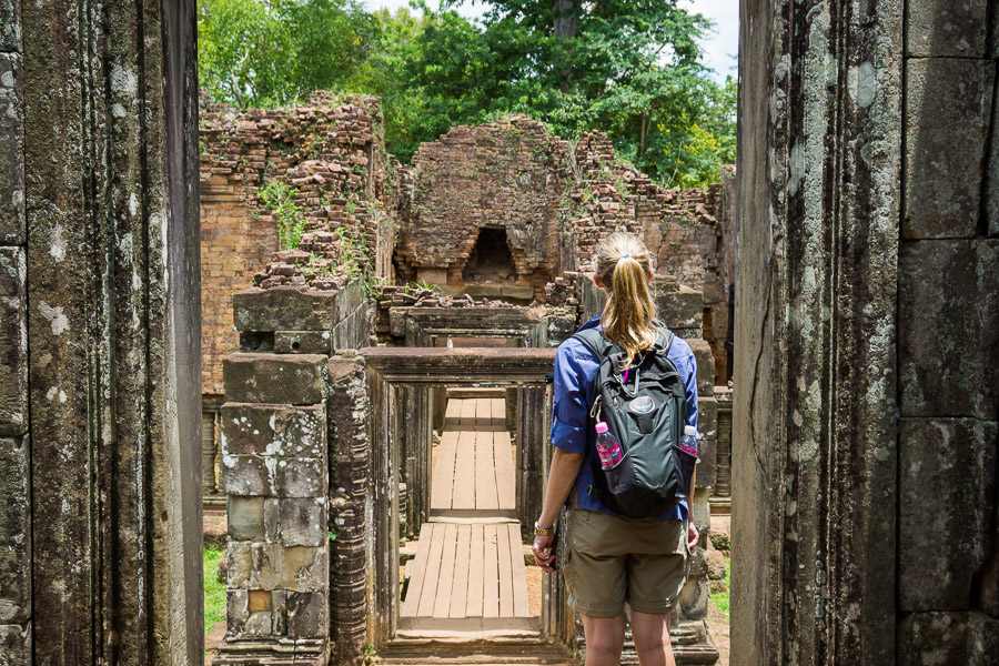 Exploring the temples of Angkor in Siem Reap, Cambodia photo: Jake Wysocki, Every Day a New Adventure